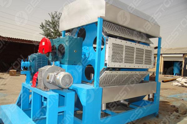 Mesin Pembuat Baki Telur BTF4-8 ke Pakistan