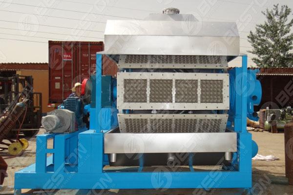 Mesin Baki Telur Kertas BTF4-8 ke Pakistan