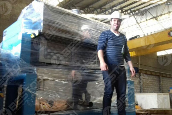 Beston Mesin Baki Telur di Brasil