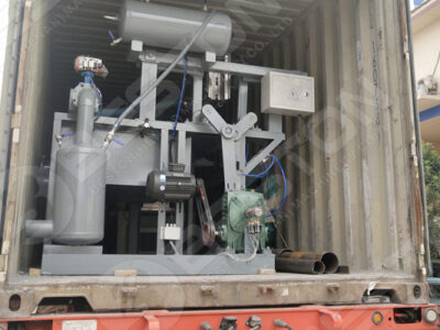 Egg Tray Machine to Zambia on the Truck