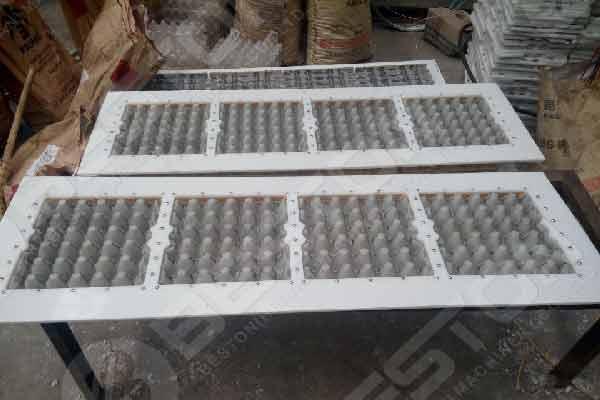 Moule de bac à papier en aluminium de la machine de fabrication de bacs à papier