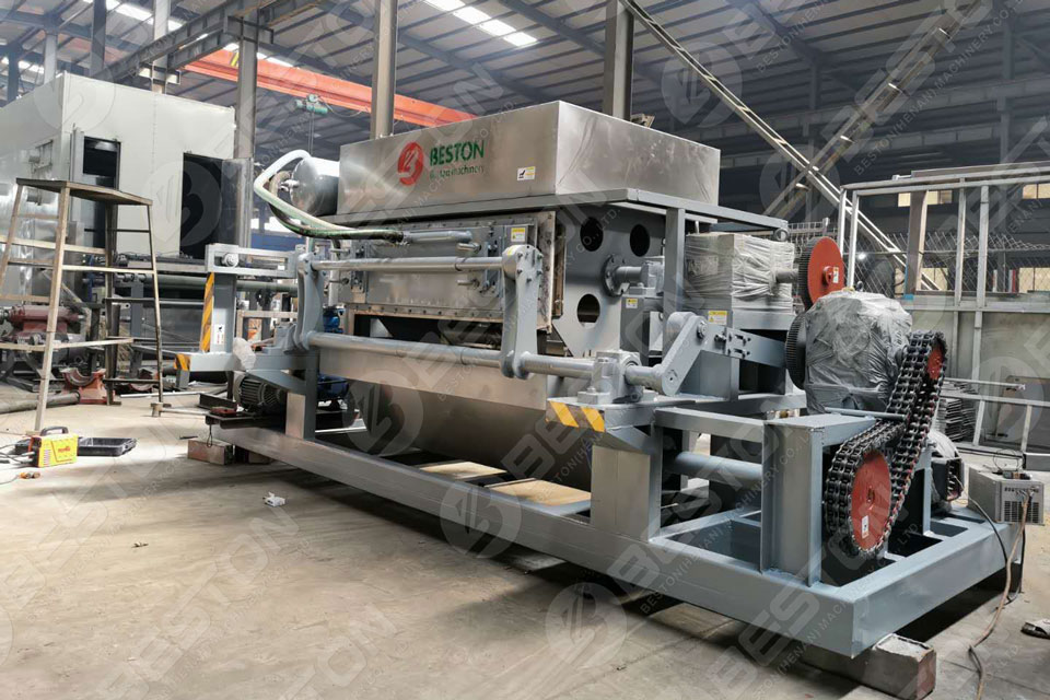 fully automatic egg tray machine for sale with reasonable price