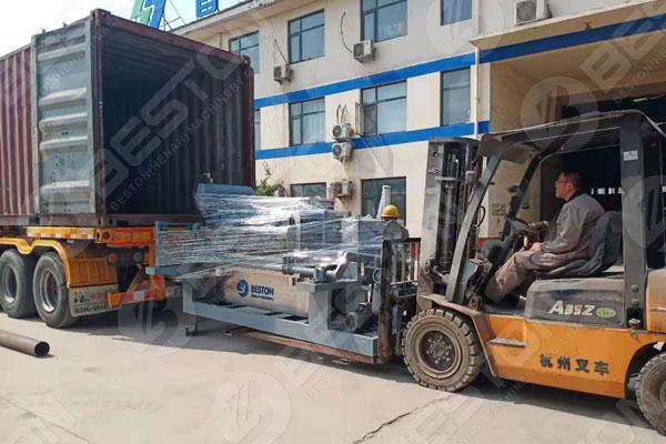 BTF4-4 Egg Tray Machine to Mali