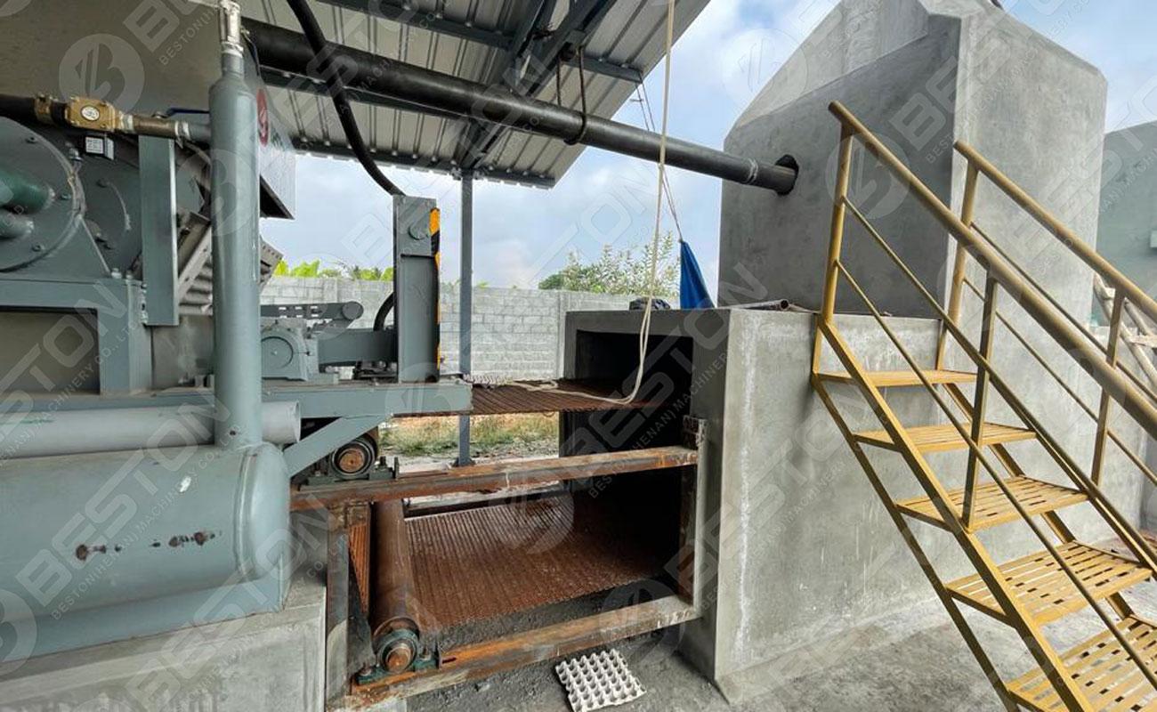 Conveyor Belt in Brick Drying System