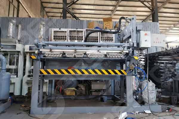 Plateau de papier faisant la machine pour le carton d'oeufs