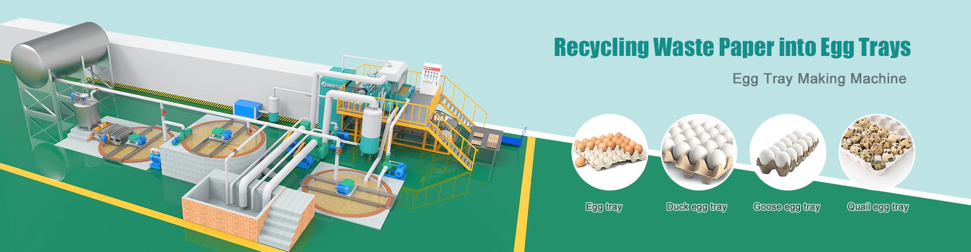 Egg Tray Machine From Beston China