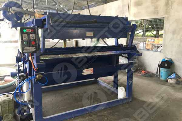 Machine de fabrication de plateaux à œufs aux Philippines