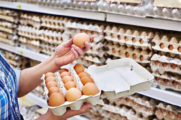 Oeufs en supermarché