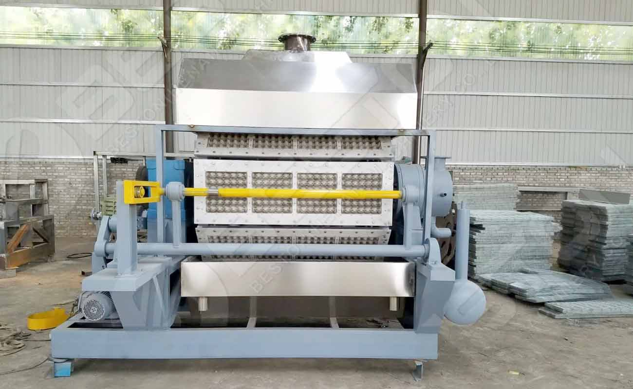 Bac à papier faisant la machine