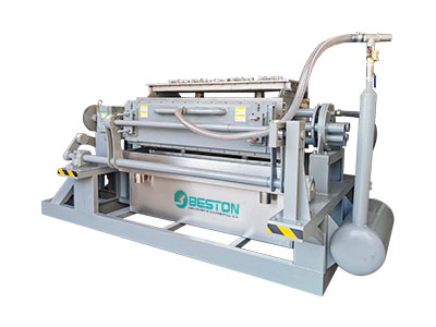 Máquina para fabricar bandejas de huevos pequeños