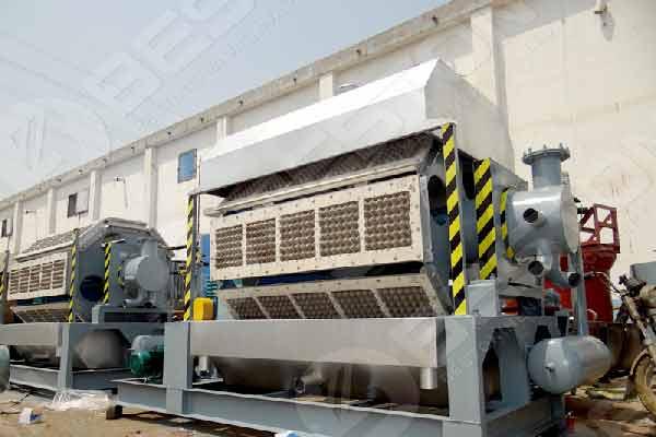 5500 PCS Egg Tray Manufacturing Equipment