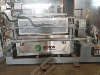 BTF4-4 Egg Tray Making Machine Shipped to Bolivia