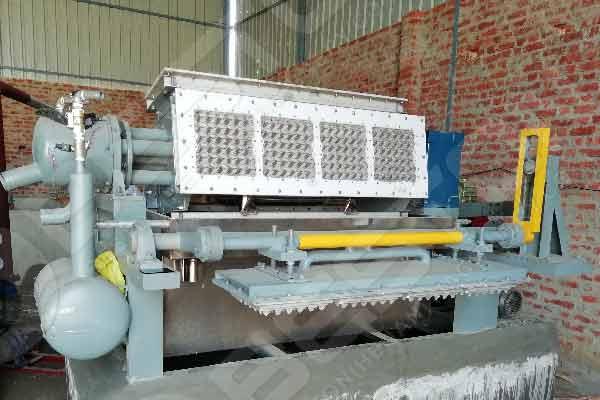 BTF4-4 Egg Tray Making Machine in India