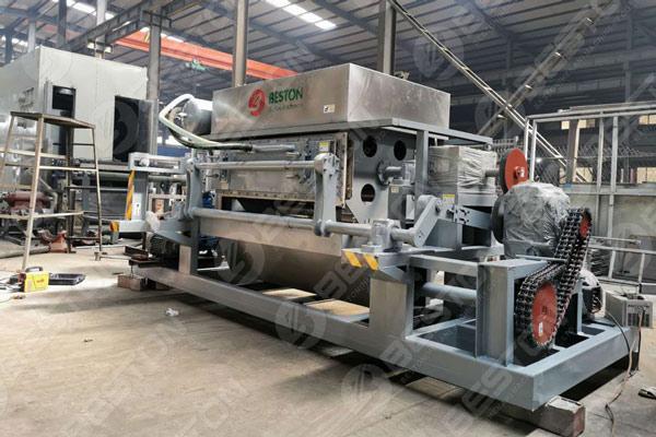 Beston Máquina de bandeja de manzana con sistema de secado de metal