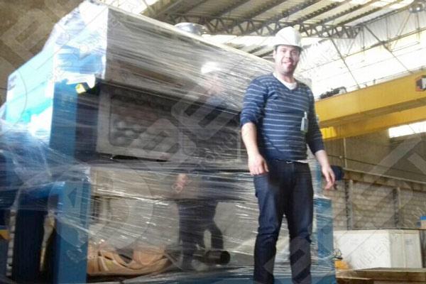 Beston Máquina para fabricar bandejas de manzana a Brasil