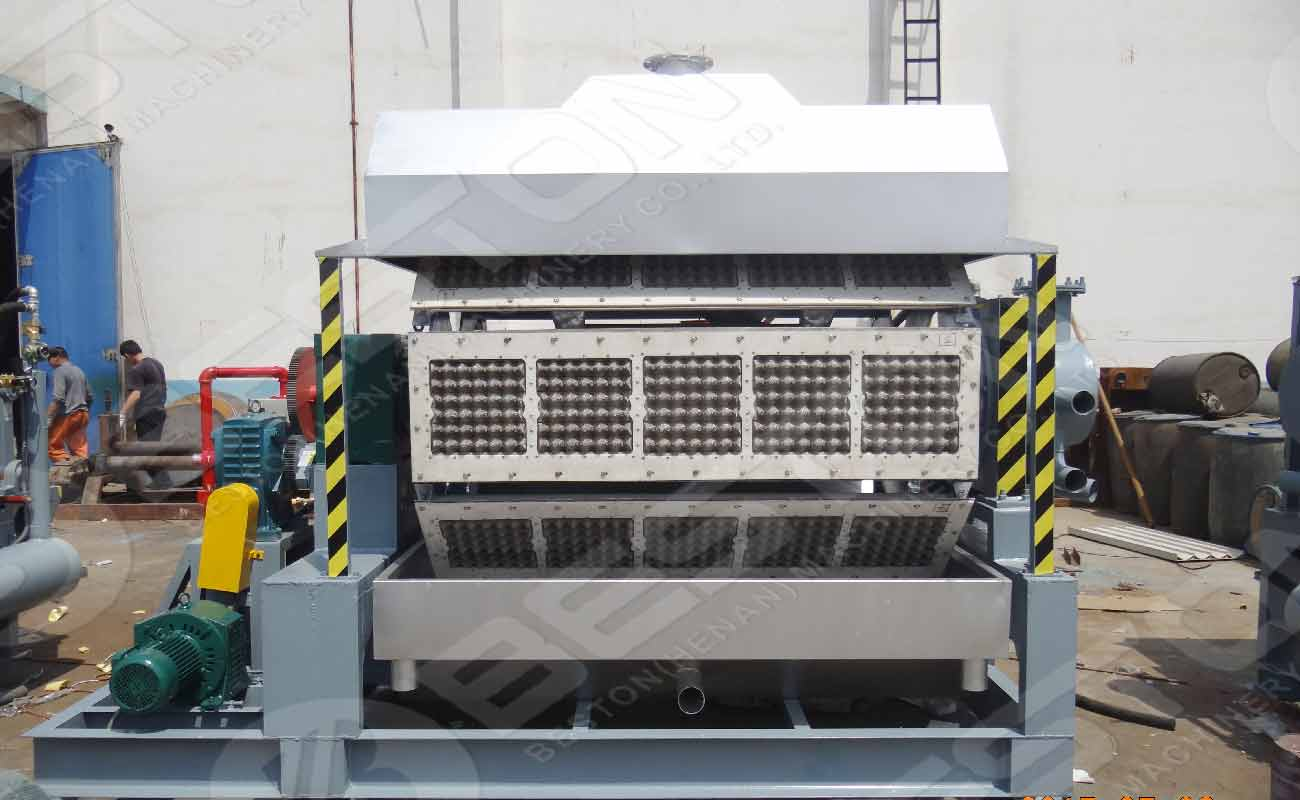 Beston Egg Tray Manufacturing Machine