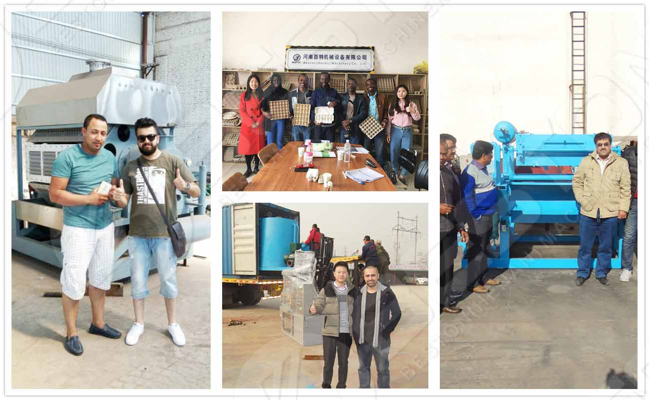 Beston and Customers All Over the World