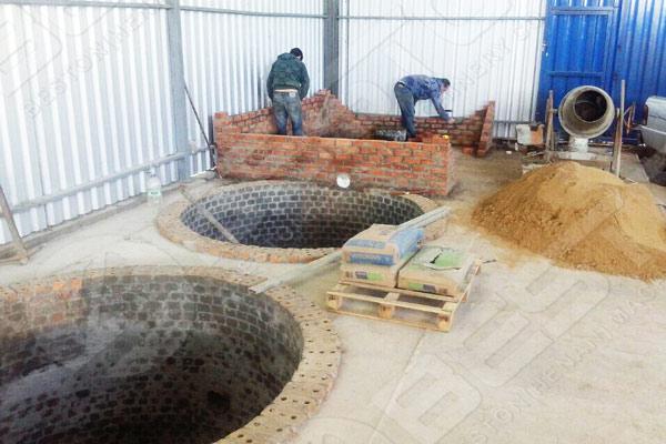 Clientes de Brasil construyeron un sistema de secado de ladrillos