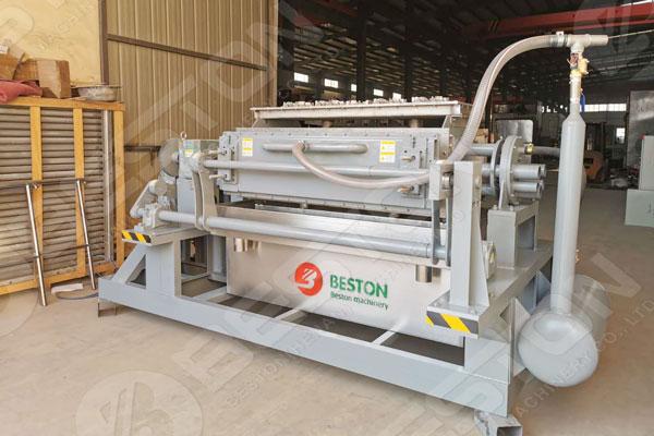 China 2500 pcs Egg Tray Making Machine