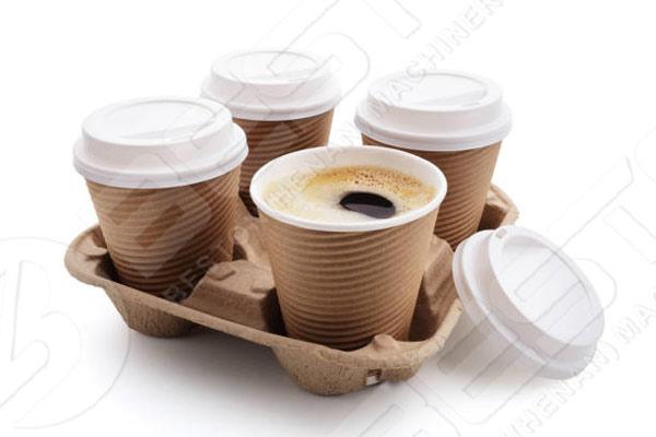 Bandeja de taza de café para la industria de la restauración