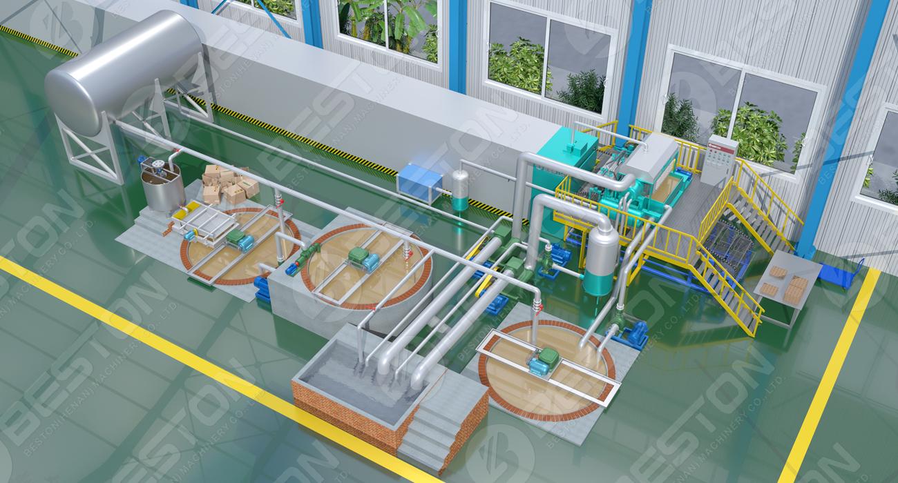 Egg Tray Making Machine Designed by Beston China