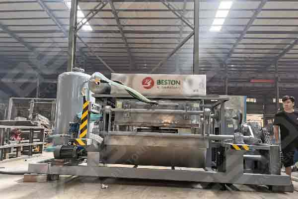 Fully Automatic Egg Tray Manufacturing Machine