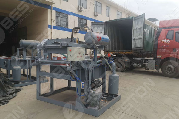 Manual Egg Tray Manufacturing Equipment