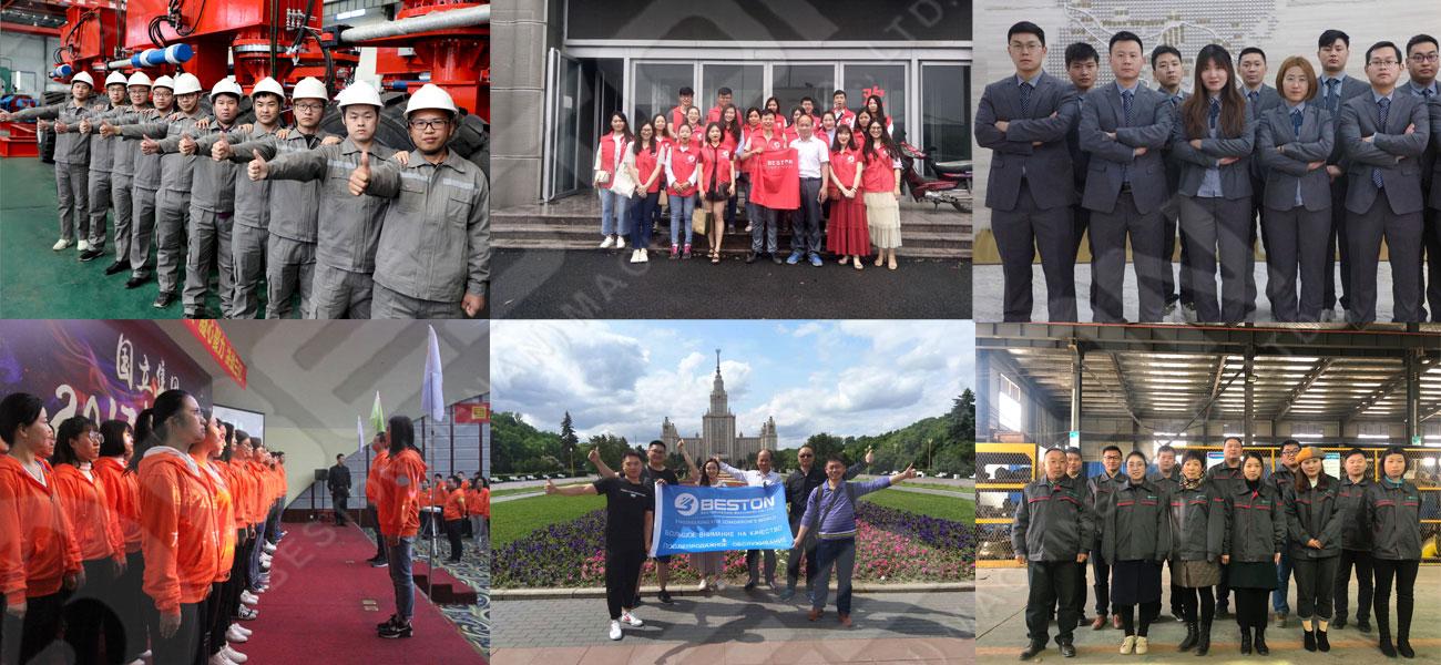 Professional Team From China Beston Machinery