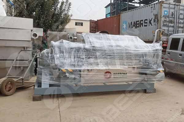 Semi Automatic Pulp Egg Tray Manufacturing Machine to Armenia