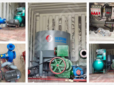 BTF1-3 Egg Tray Making Machine to Sudan