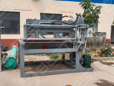 BTF1-4 Egg Tray Machine to Peru