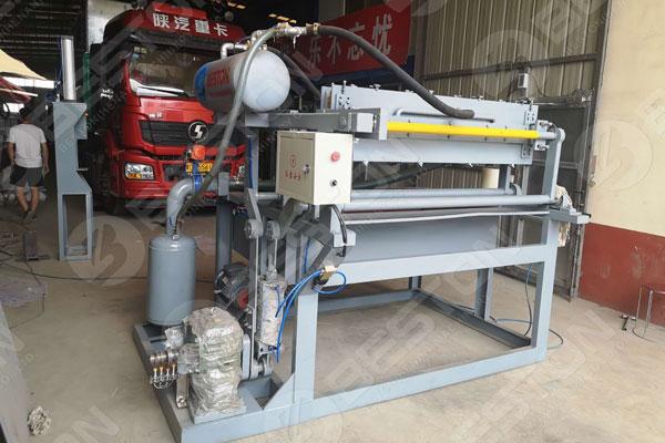 BTF1-4 Egg Tray Making Machine to Columbia