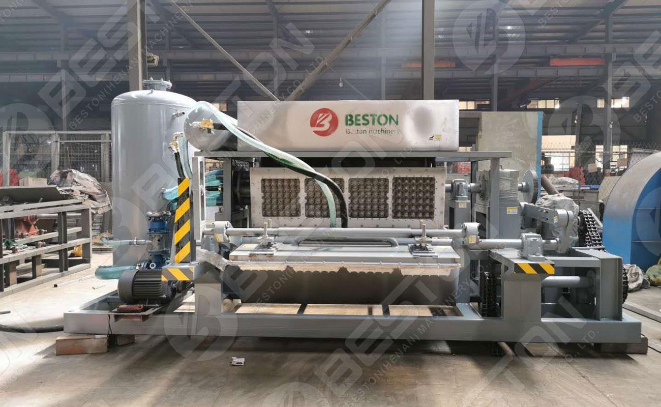 Beston Rapport de projet de machine de fabrication de plateaux d'oeufs