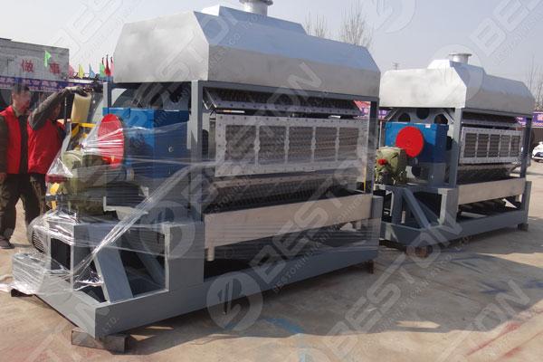 Beston Machine de fabrication de plateaux à oeufs à vendre
