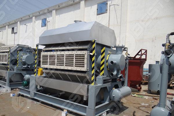 Beston Machines à plateaux d'oeufs de haute technologie à vendre