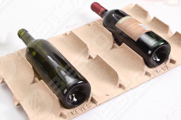 Bottle Tray Made By Beston Paper Tray Machine