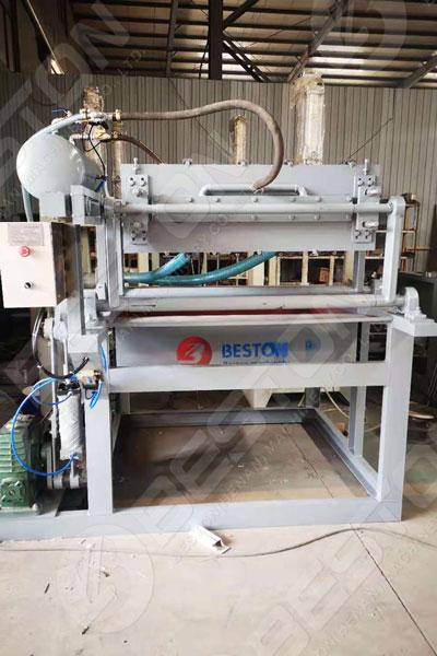 Máquina para fabricar bandejas de huevos para la venta a Zambia