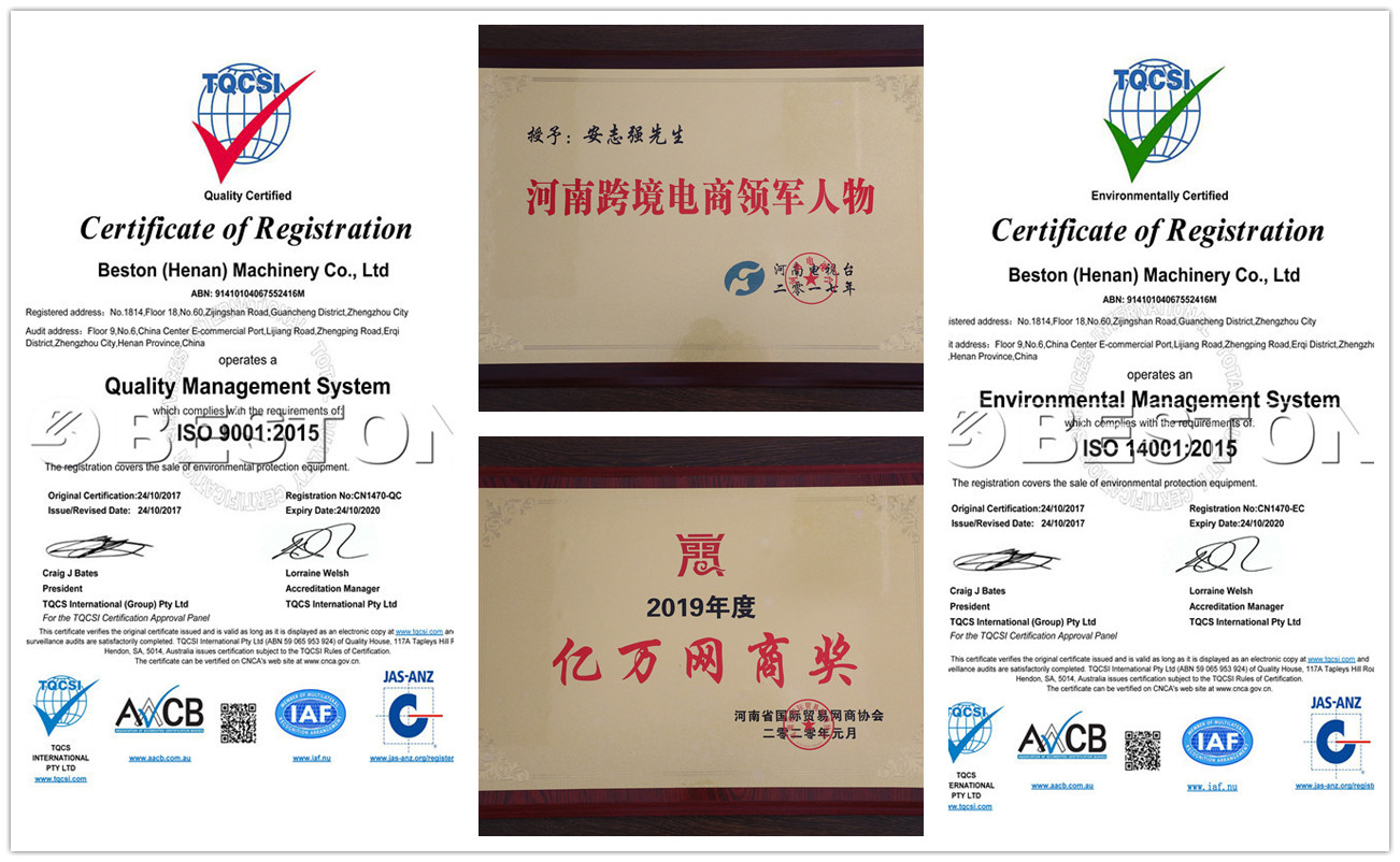 ISO Certifications of Fruit Tray Making Machine