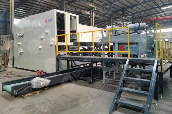 Sistema de secado automático multicapa