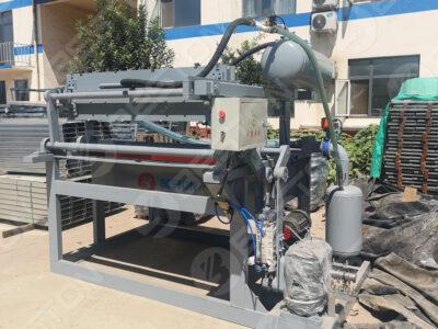 Machine de fabrication de plateaux à œufs BTF1-3 aux Philippines