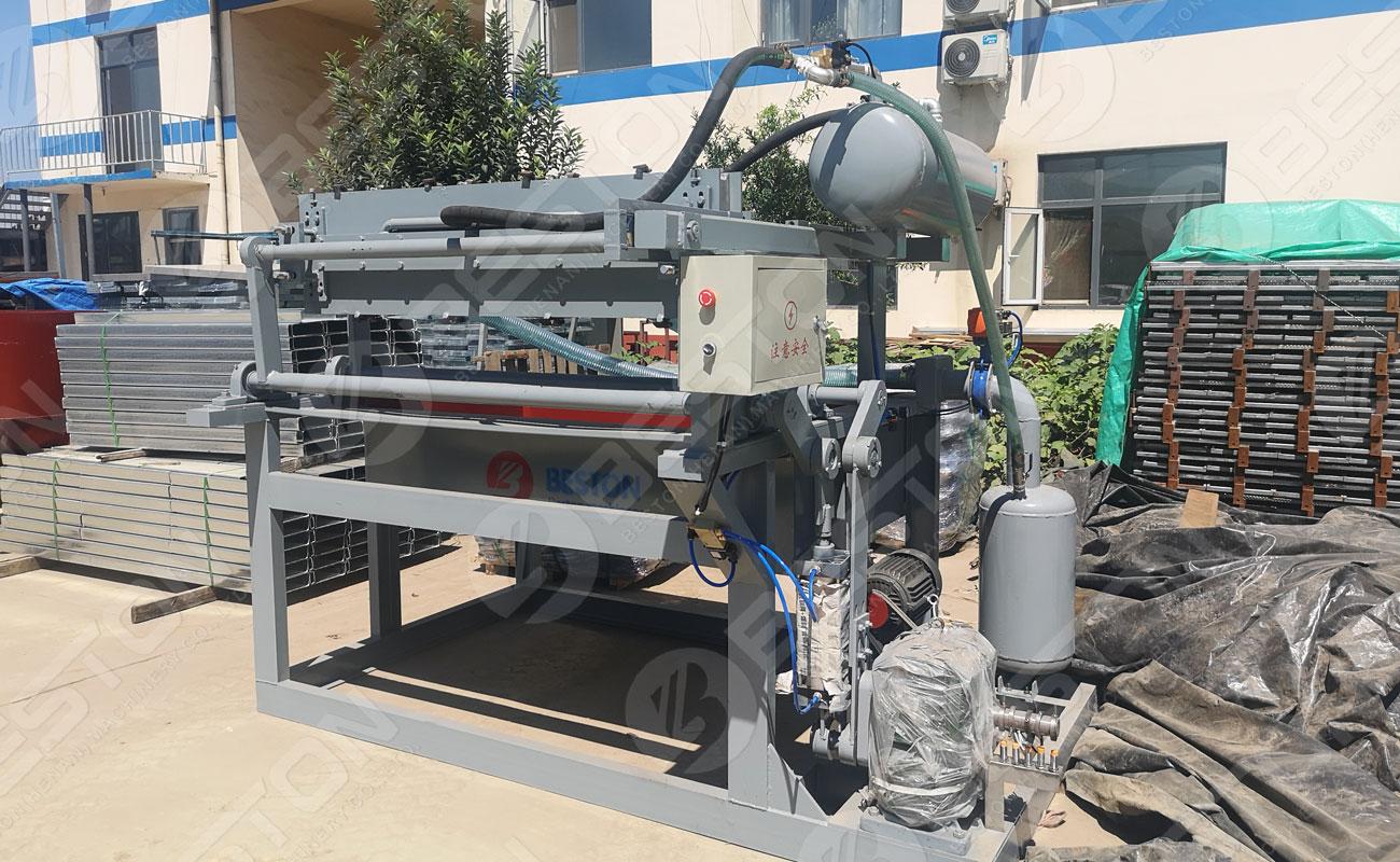 BTF1-3 Egg Tray Making Machine to the Philippines