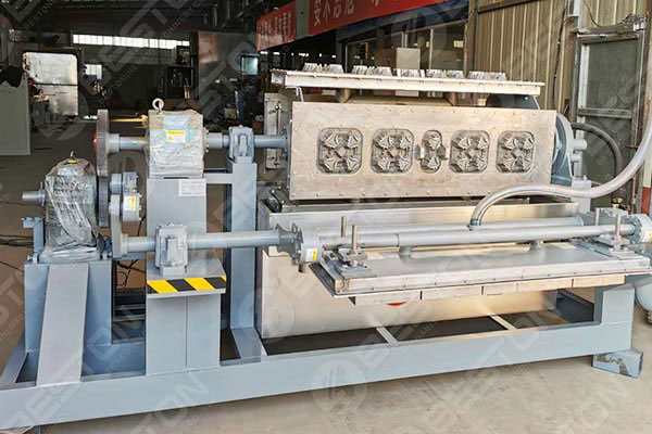 Beston Coffee Cup Tray Making Machine in Mexico