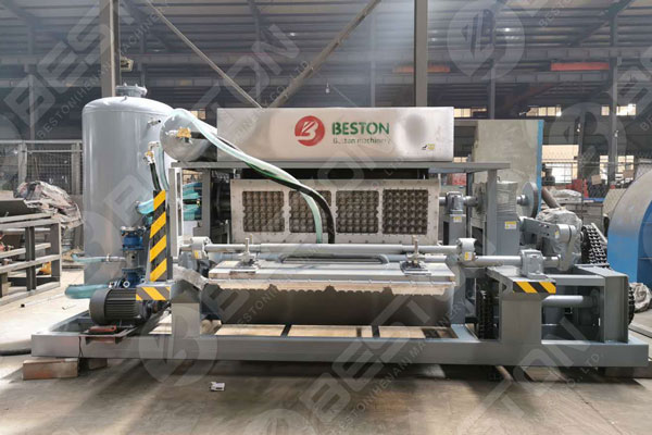 Beston Egg Tray Equipment With Stable Operation