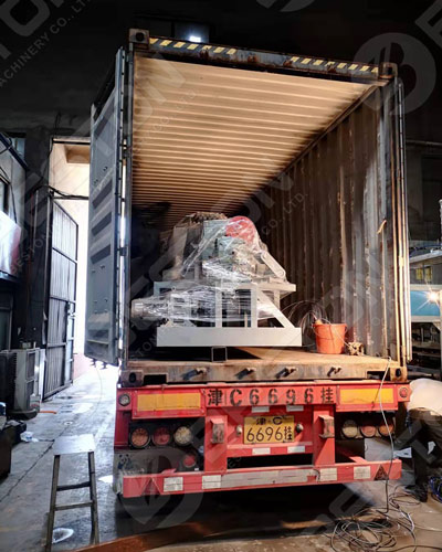 Loaded Coffee Cup Tray Making Machine to Columbia