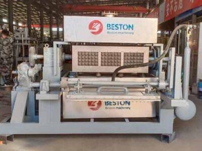Machine de fabrication de plateaux d'oeufs à vendre au Botswana