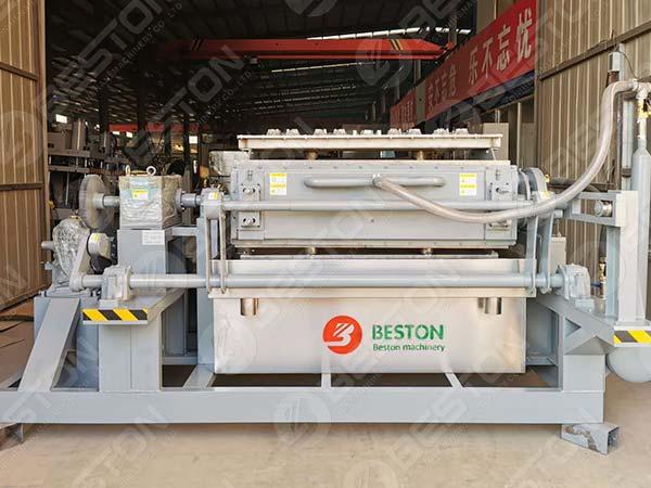 Máquina para fabricar bandejas de tazas de café ambiental