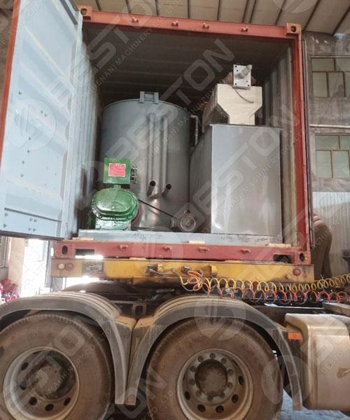 Shipment of Egg Tray Machine to Poland