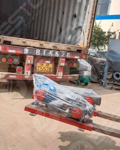 Shipping Details of Egg Carton Machine to Botswana