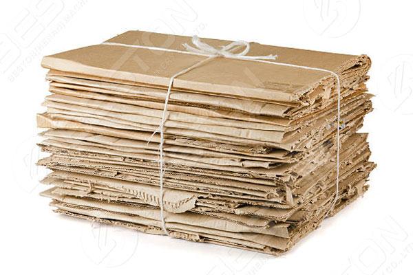 Cajas de residuos para producir cartones de huevos en Botswana